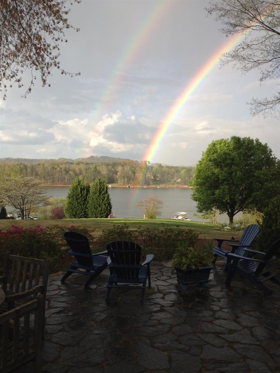 RAINBOW OVER LAKE LANIER, GAINESVILLE GA