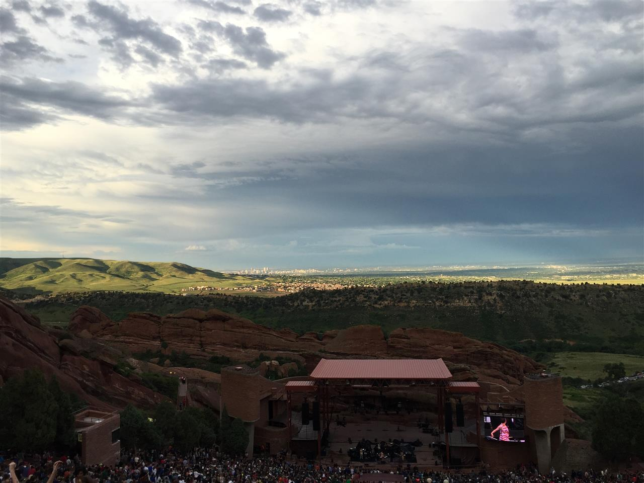 Red Rocks Ampitheater, Morrison, CO