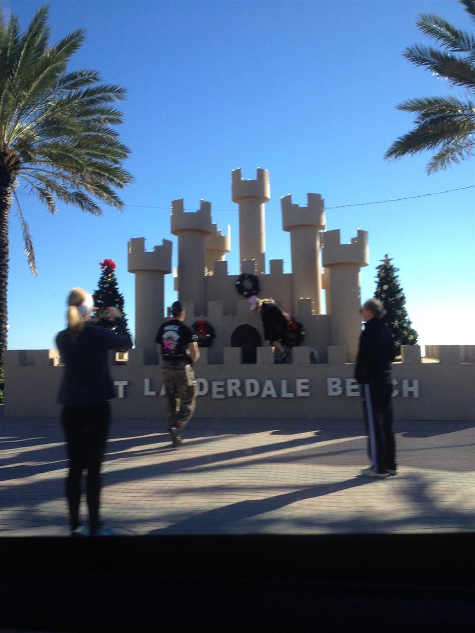 Fort Lauderdale Sand Castle