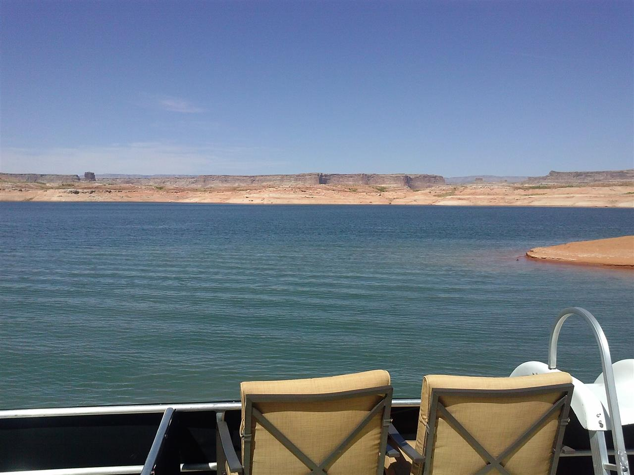 Lake Powell from Houseboat