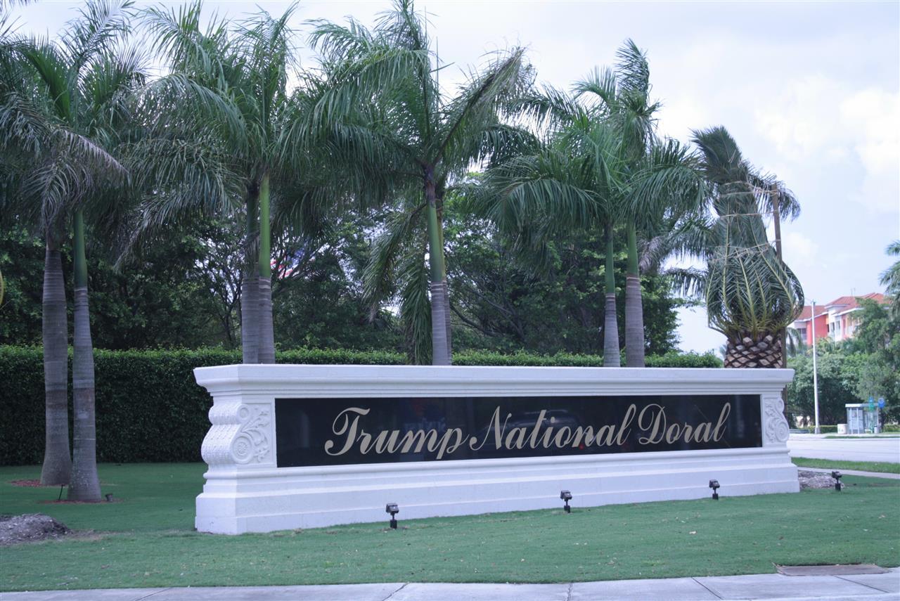 Trump National Golf Course, Doral, #LeadingRELocal #soflo