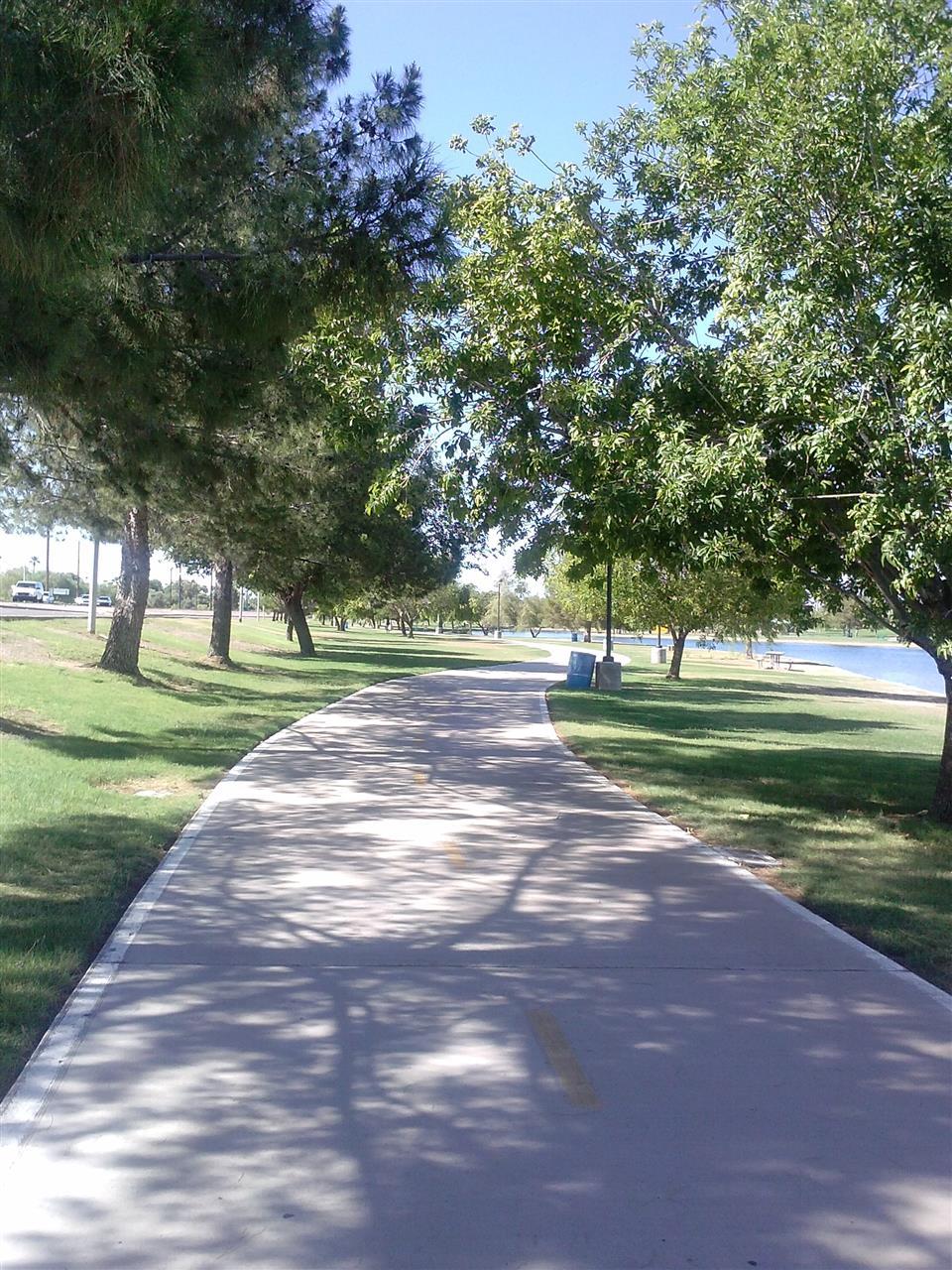 Chaparral Park Bike Path (Scottsdale, AZ)