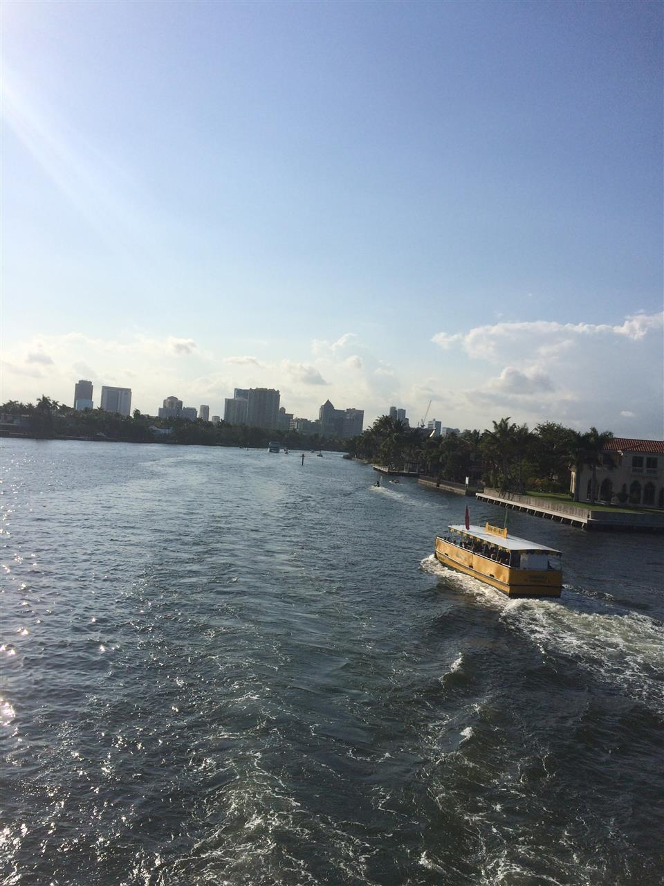 Fort Lauderdale water taxie
