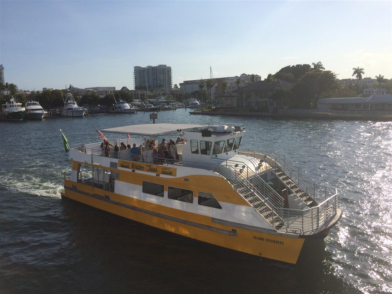 Fort Lauderdale water taxi 2