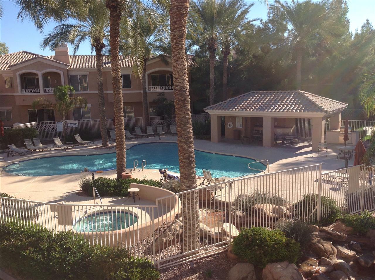 Resort style living in the desert