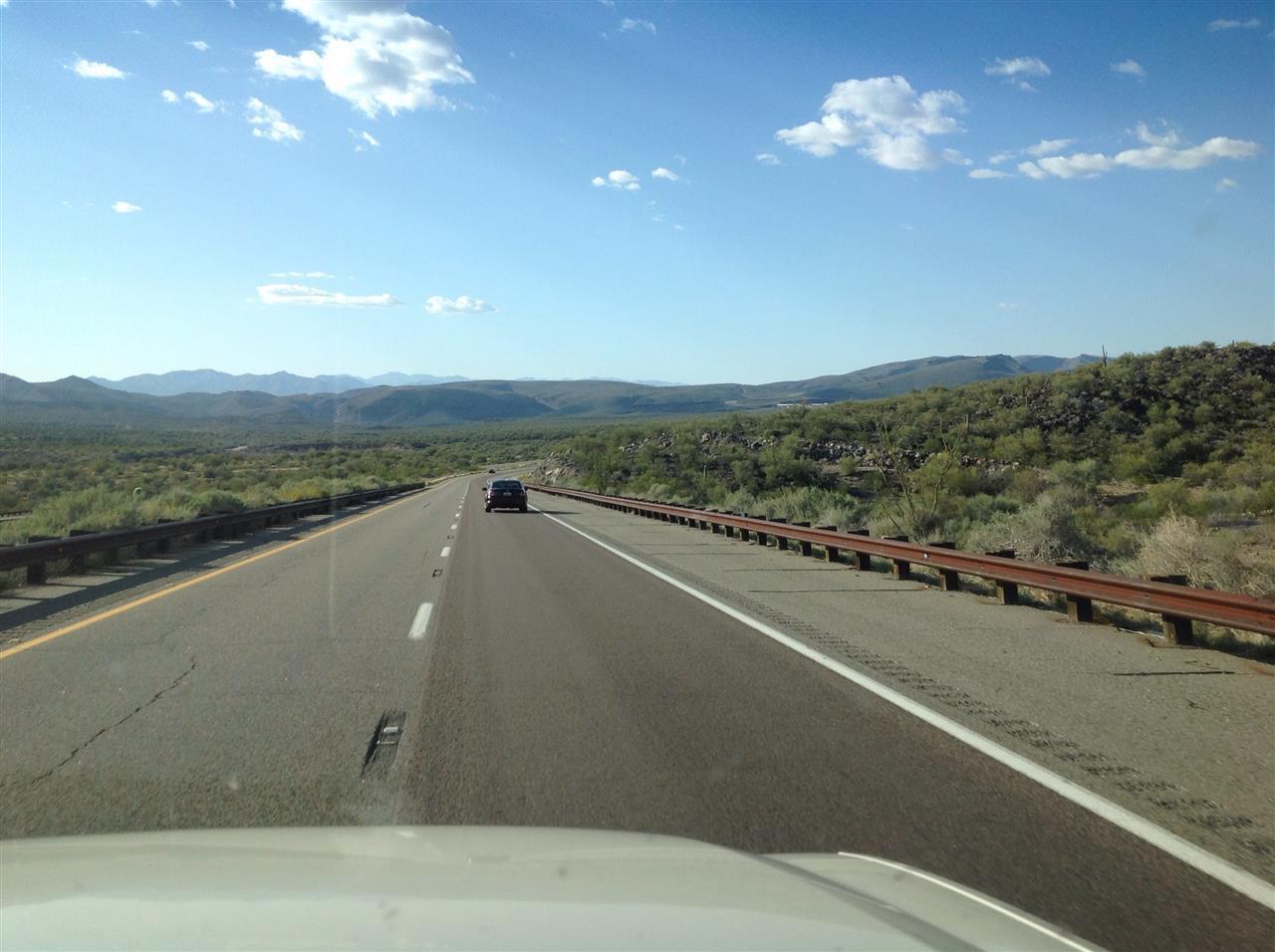 On the Arizona road
