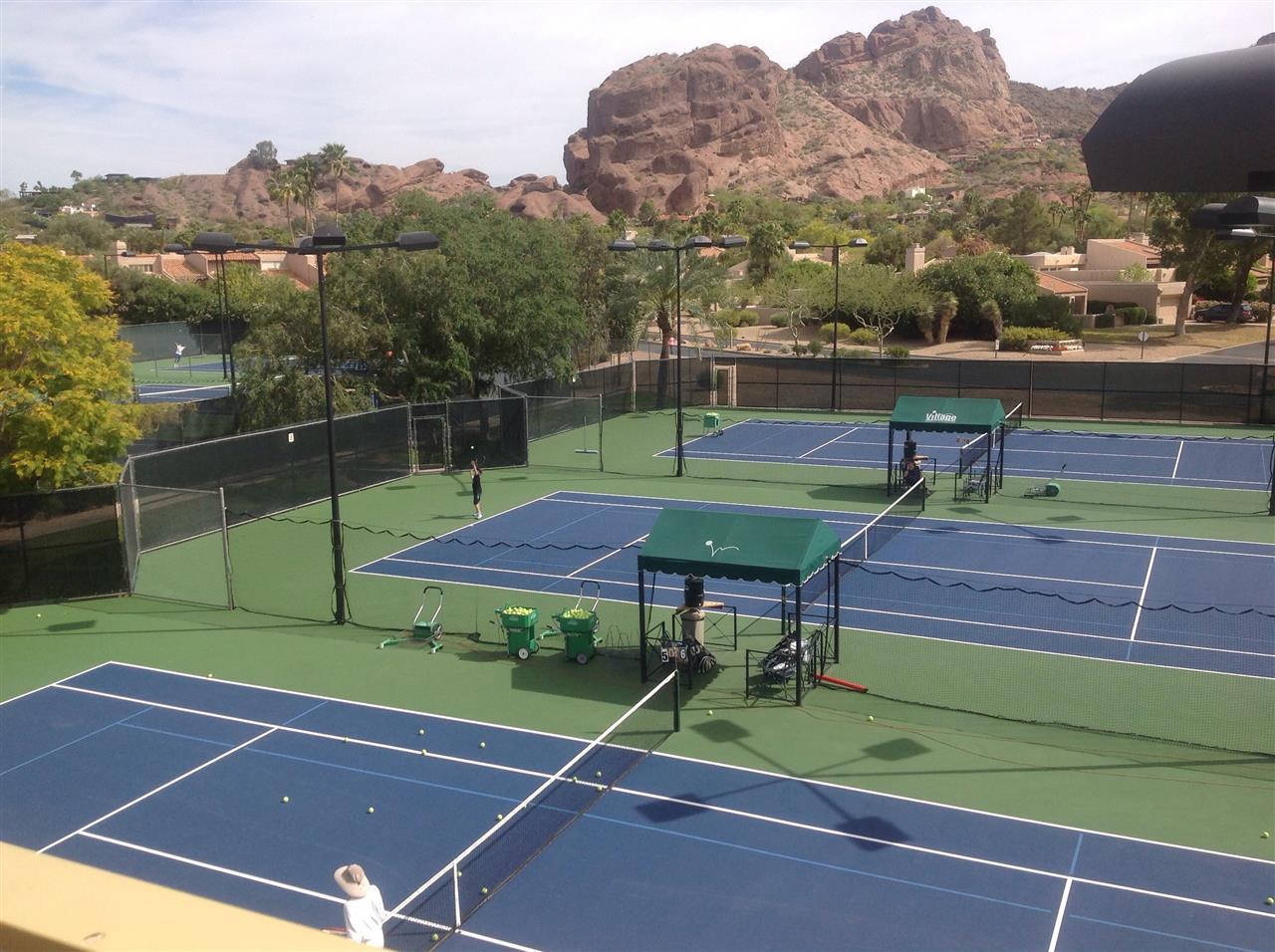 Tennis at The Village on Camelback Phoenix AZ