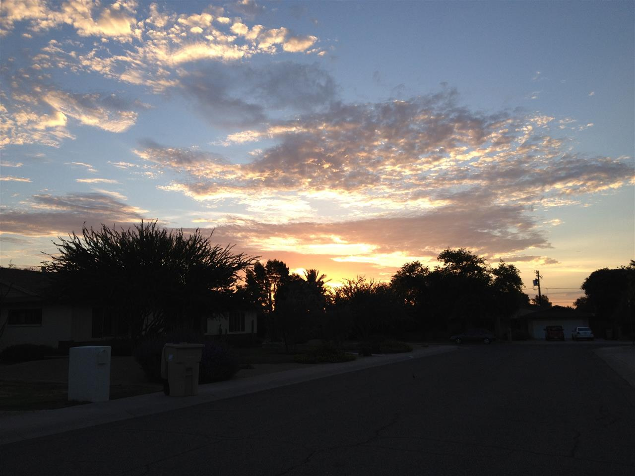 Paradise Valley sunset