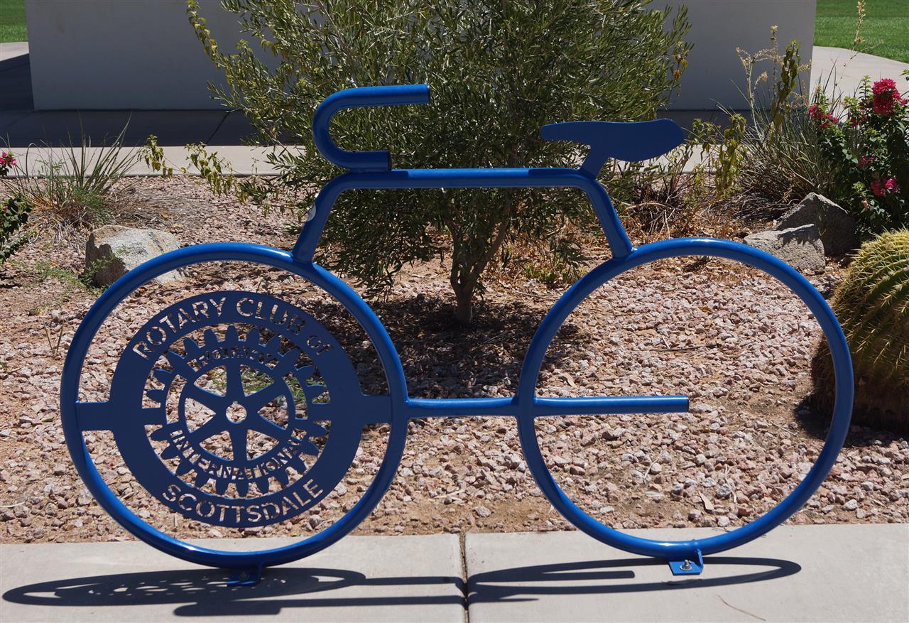 Scottsdale, AZ is known as a bike friendly city.