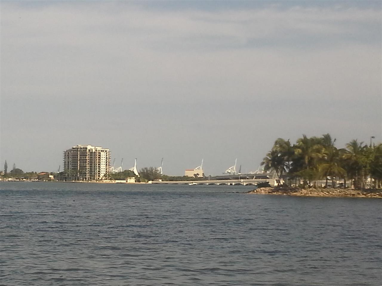 Miami Beach from Miami Bay