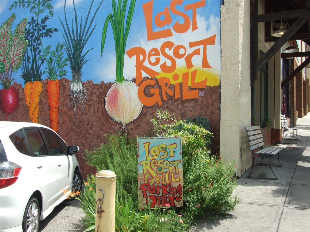 Last Resort Grill, Athens GA