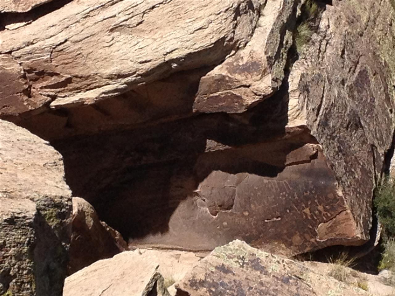 Petroglyphs Painted Desert AZ