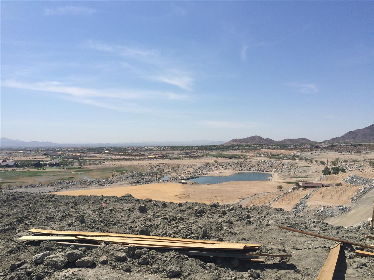 Victory at Verrado Golf course under construction 2 Buckeye, AZ