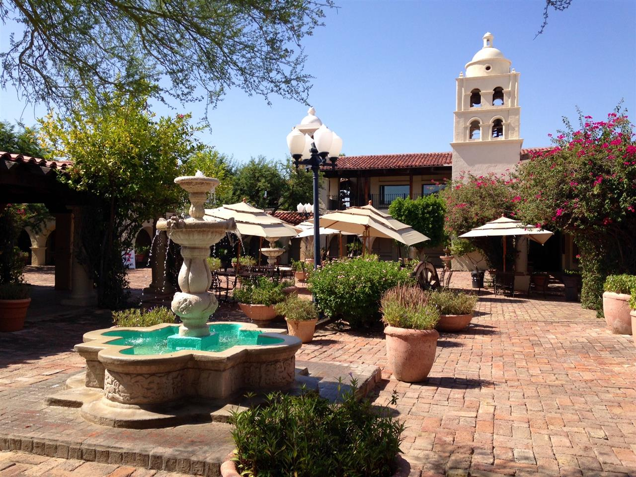 The Plaza at the General Store when you can eat outside and enjoy the day  Pinnacle Peak  Scottsdale, AZ