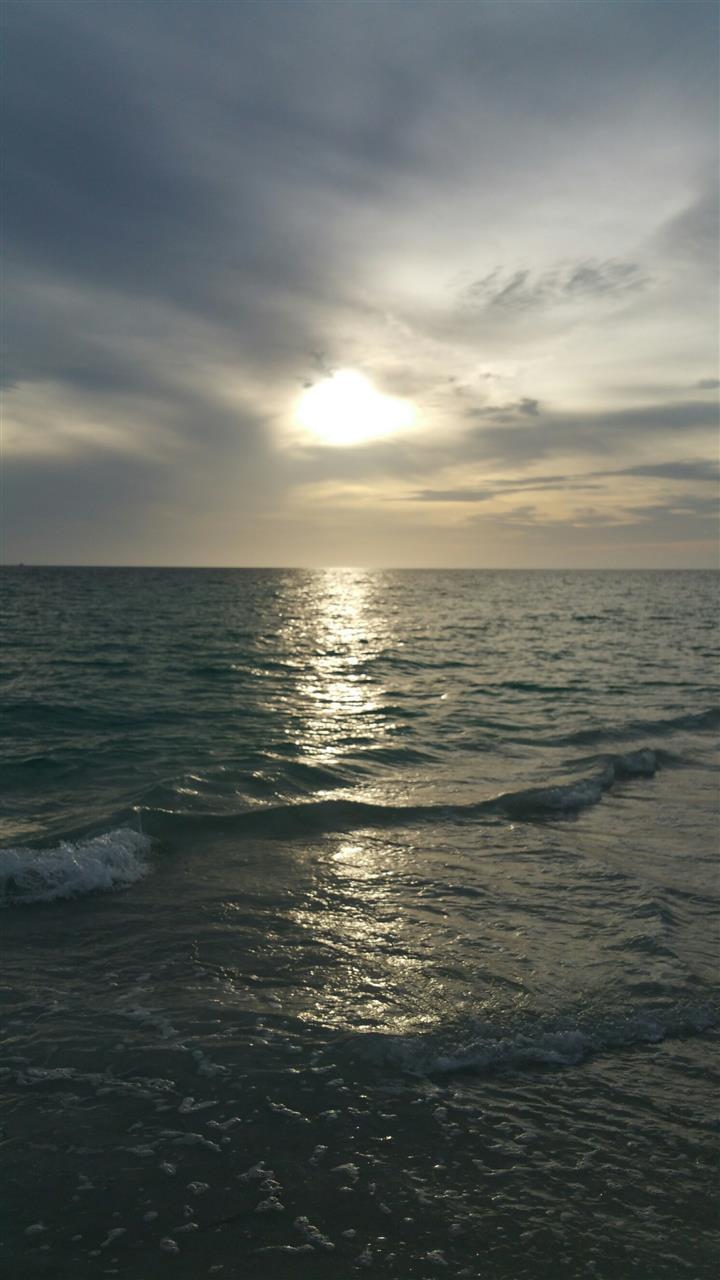 #Florida #Bradenton #GulfBeaches #CloudySunset