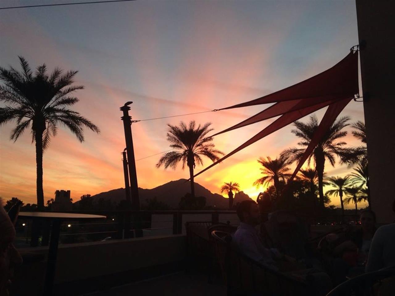 Happy Hour Sunset at Ruth's Christ Steak House Scottsdale, AZ