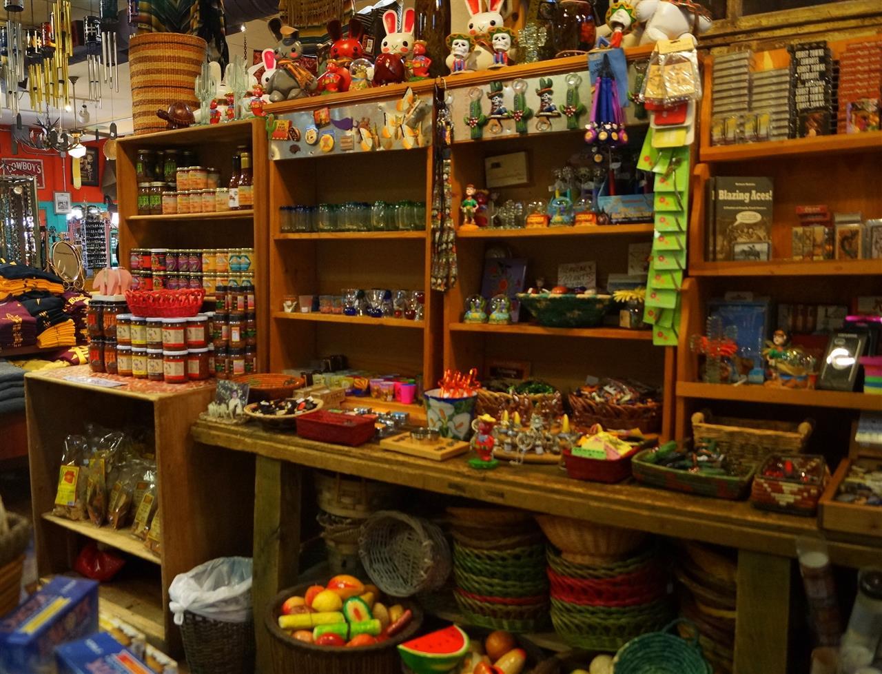 Tourist treasures at Bischoffs of the West  Scottsdale, AZ