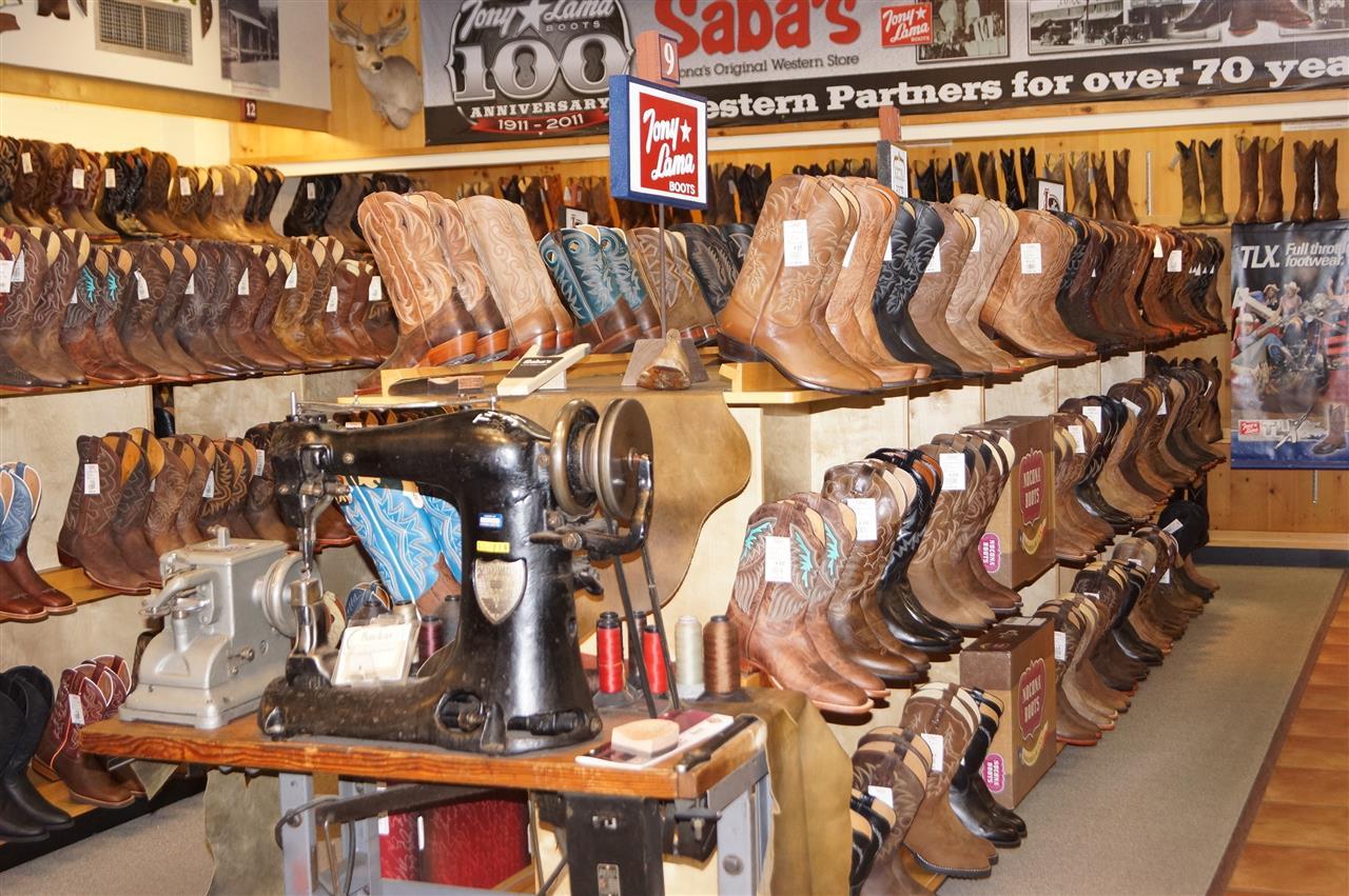New boots from Saba's Western Wear  Scottsdale, AZ