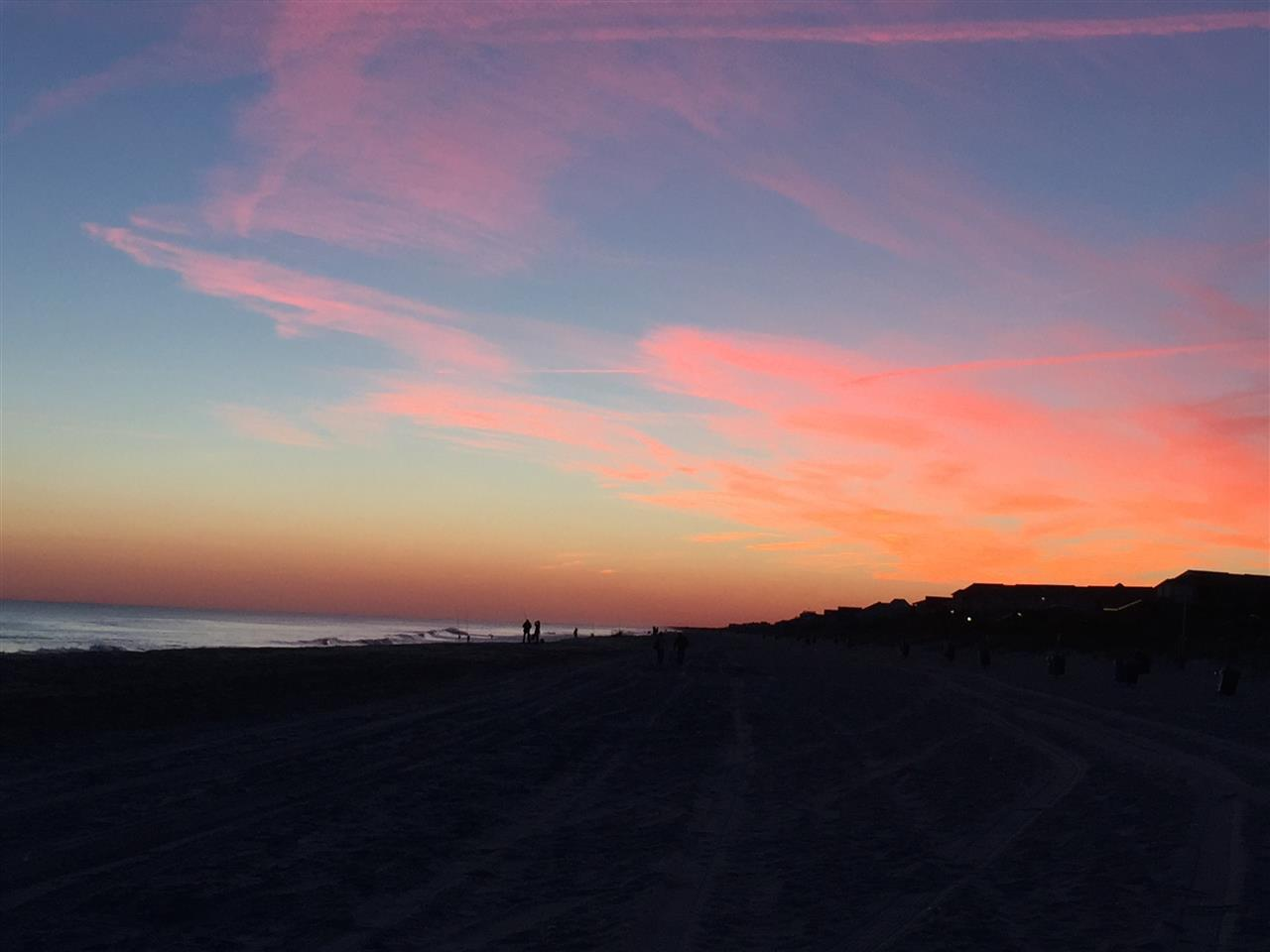 Sunset in November, Emerald Isle, NC