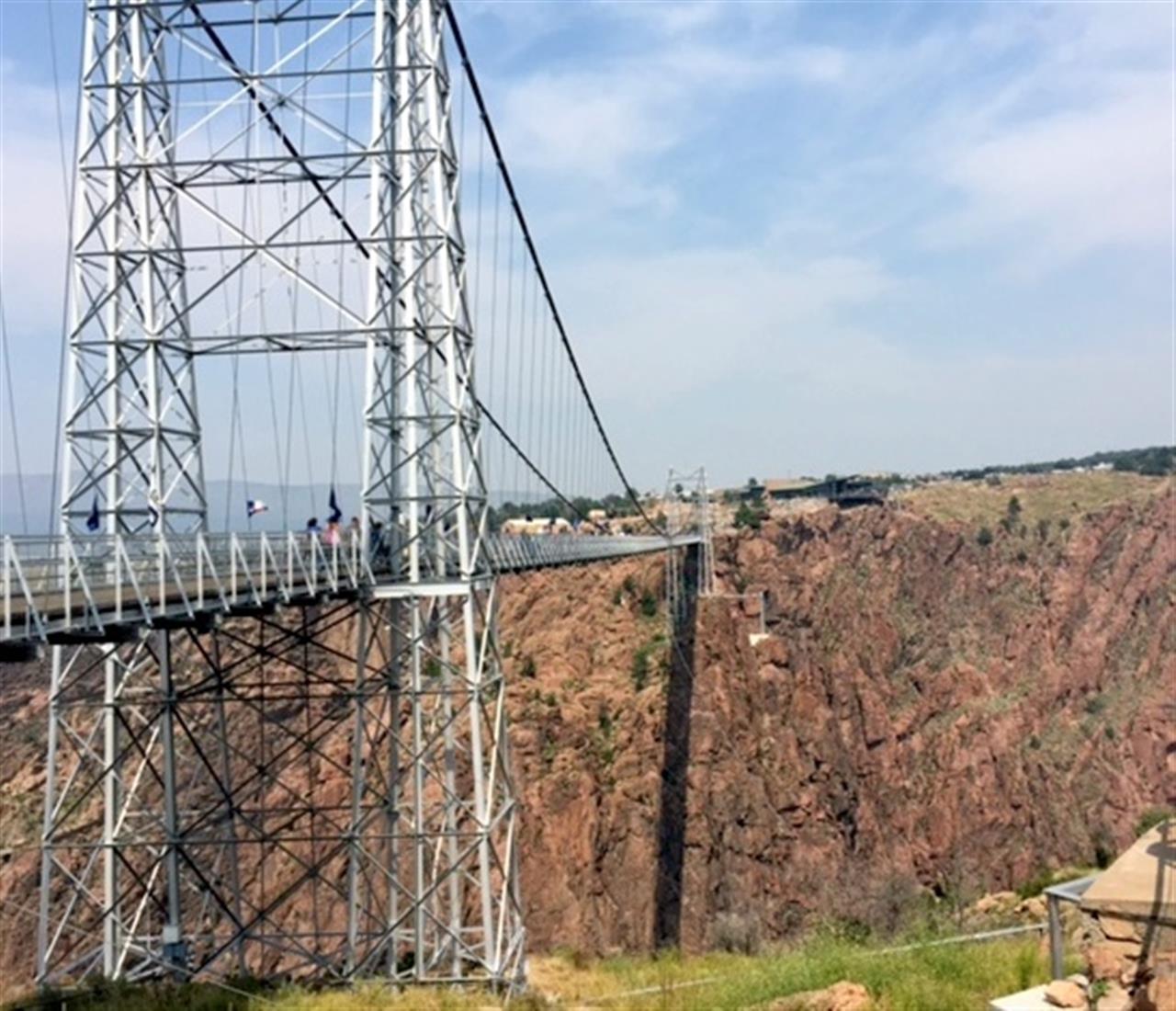 Royal Gorge Bridge, Canon City CO - Highest suspension bridge in North America.