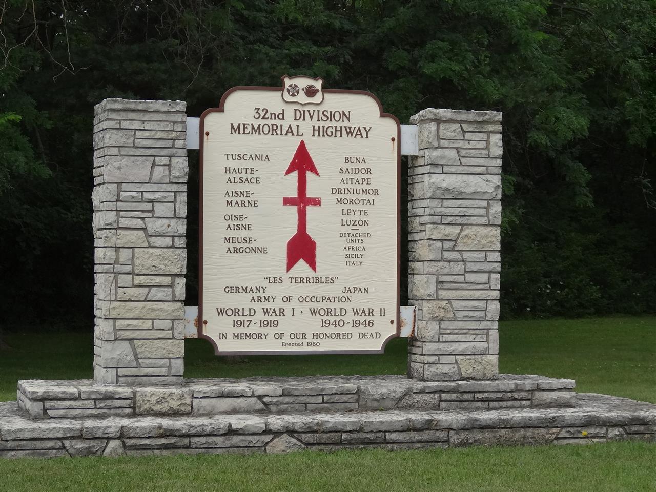 32nd Division Memorial Highway-Racine, Wisconsin