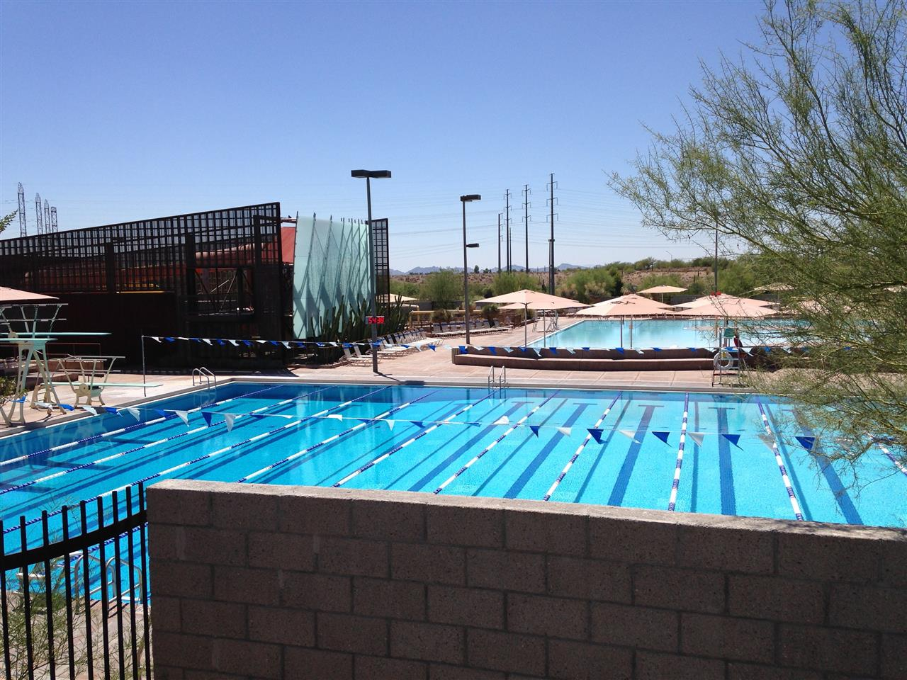 Incredible McDowell Mtn Ranch Aquatic and Fitness Center run by the city of #Scottsdale#Arizona