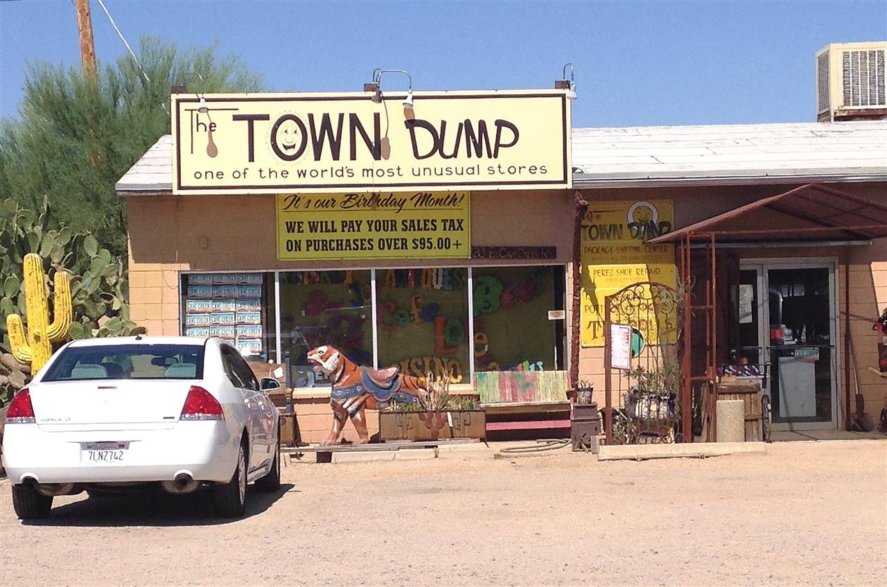 Forget shopping at Nordstrom, the Town Dump in Cave Creek is filled with creative buys! #Scottsdale#Arizona