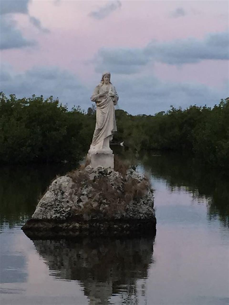 Christ Statue - Tavernier, FL #Tavernier #FLKeys