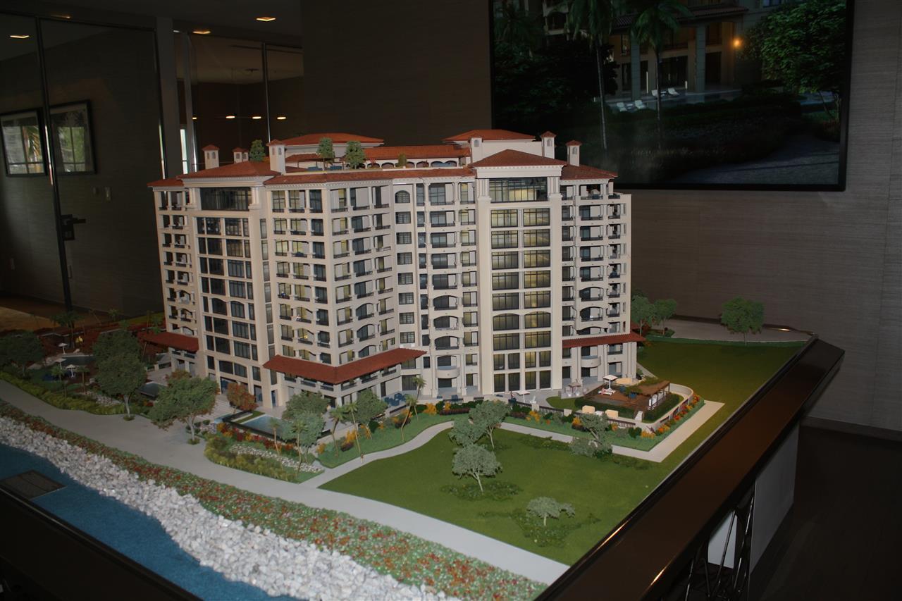 Model of Palazzo de Luna near Miami Beach, Fl