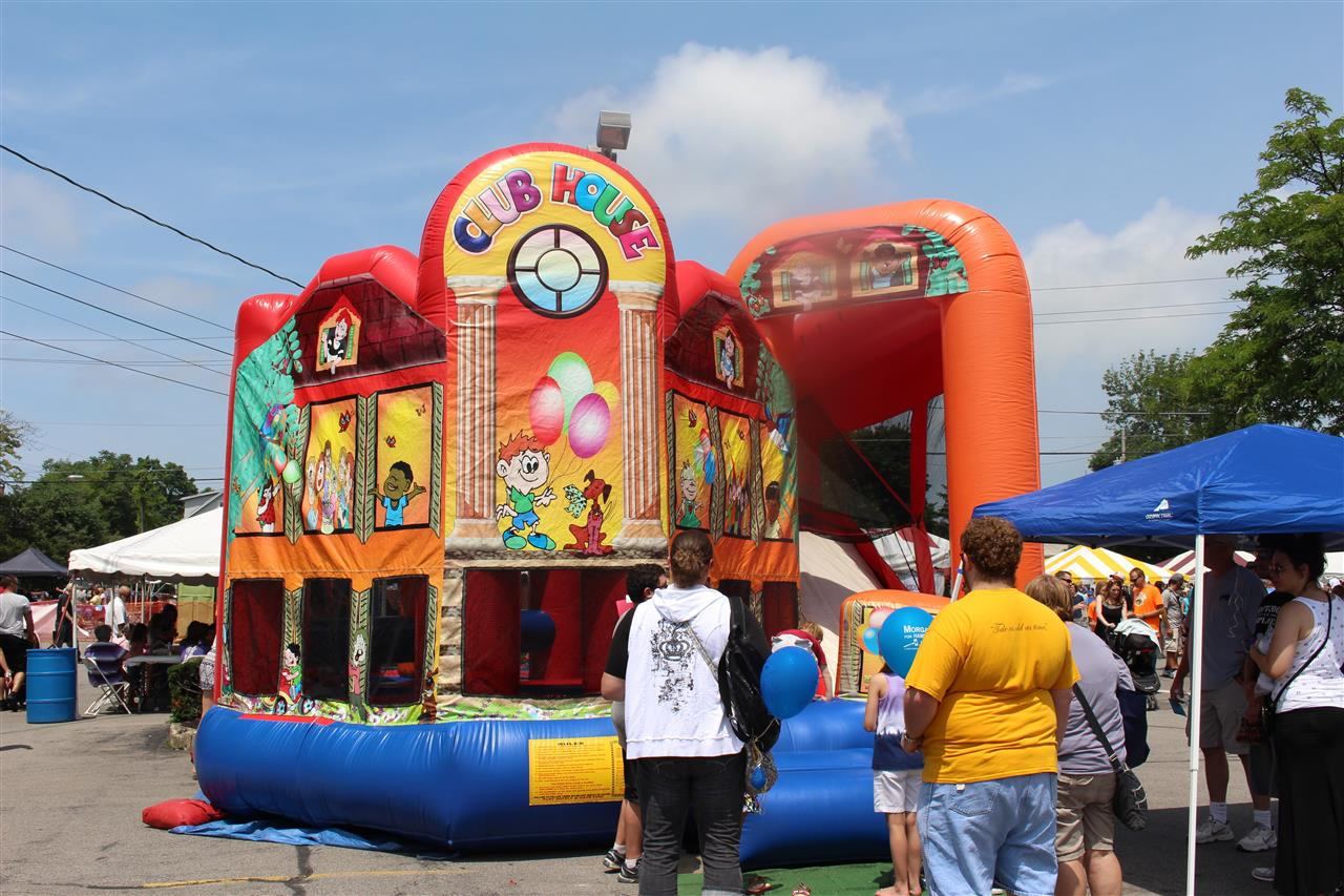 Once a year the Town of Hamburg NY has a festival celebrating the Birth of the Burger at the Erie County Fair years ago. This festival is know as Burger fest and is held every year on the third Saturday of July.