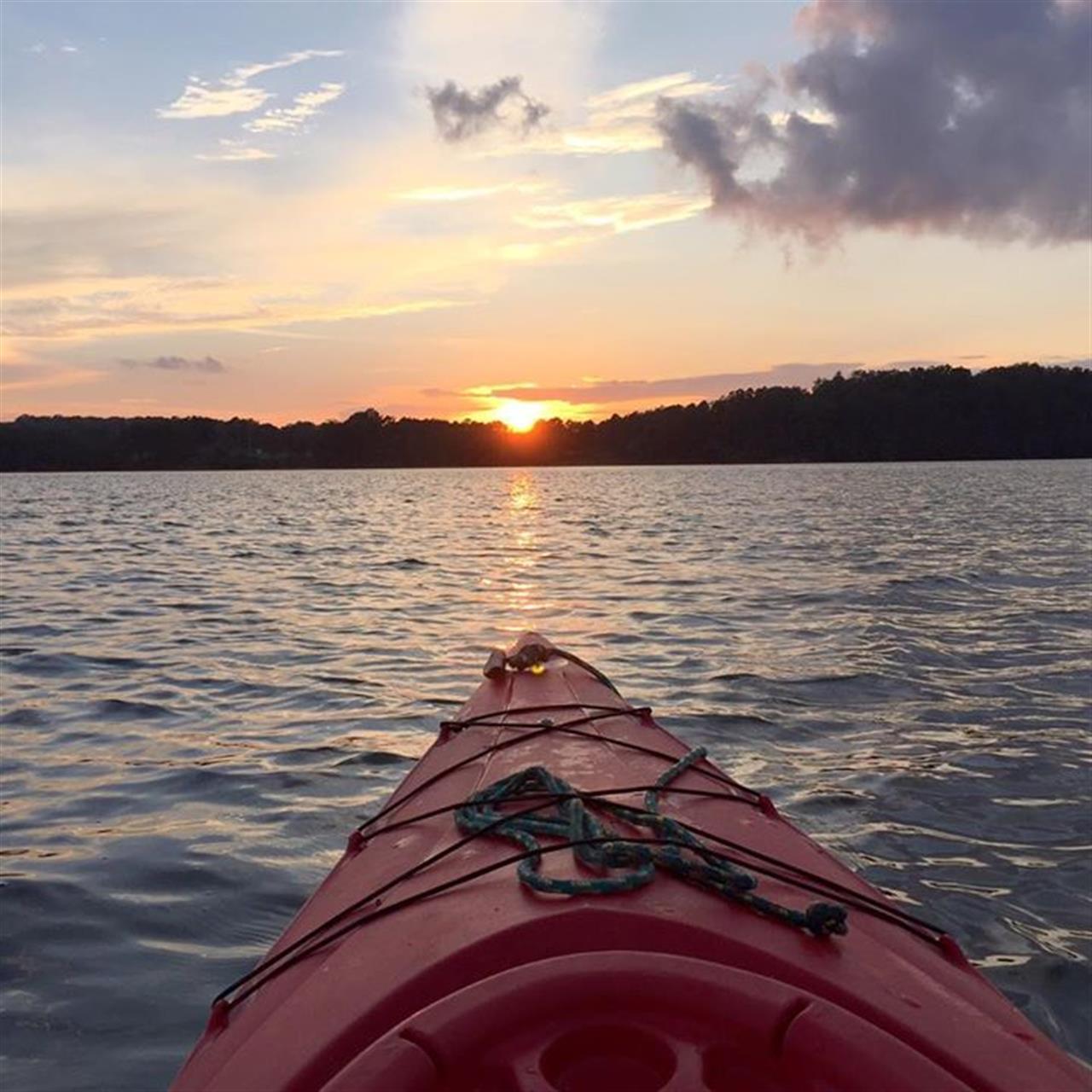 Lake Lanier at sunset