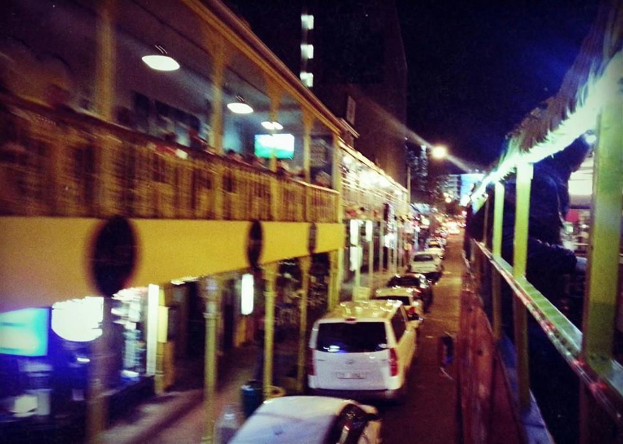 Long Street at night