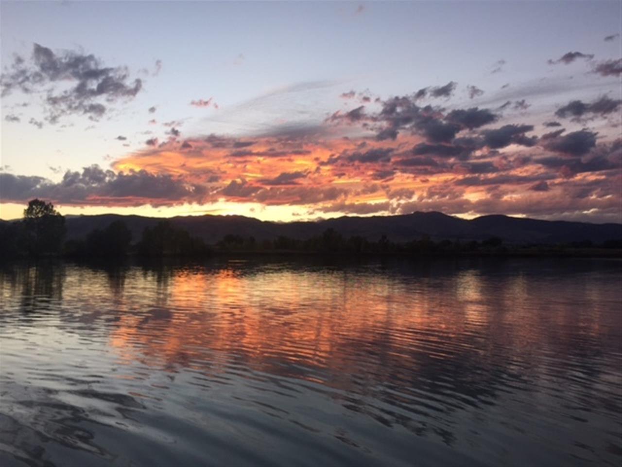 Sunset on Coot Lake - Boulder CO 9/17/15