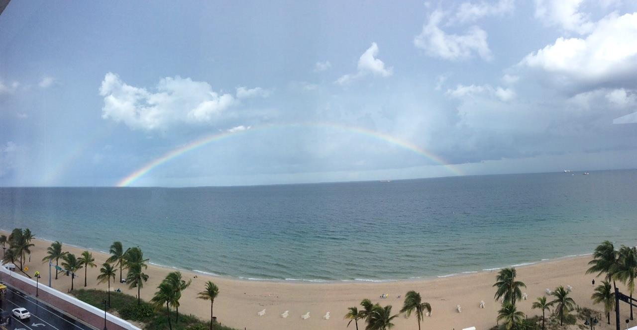 Rainbow off Ft. Lauderdale Beach