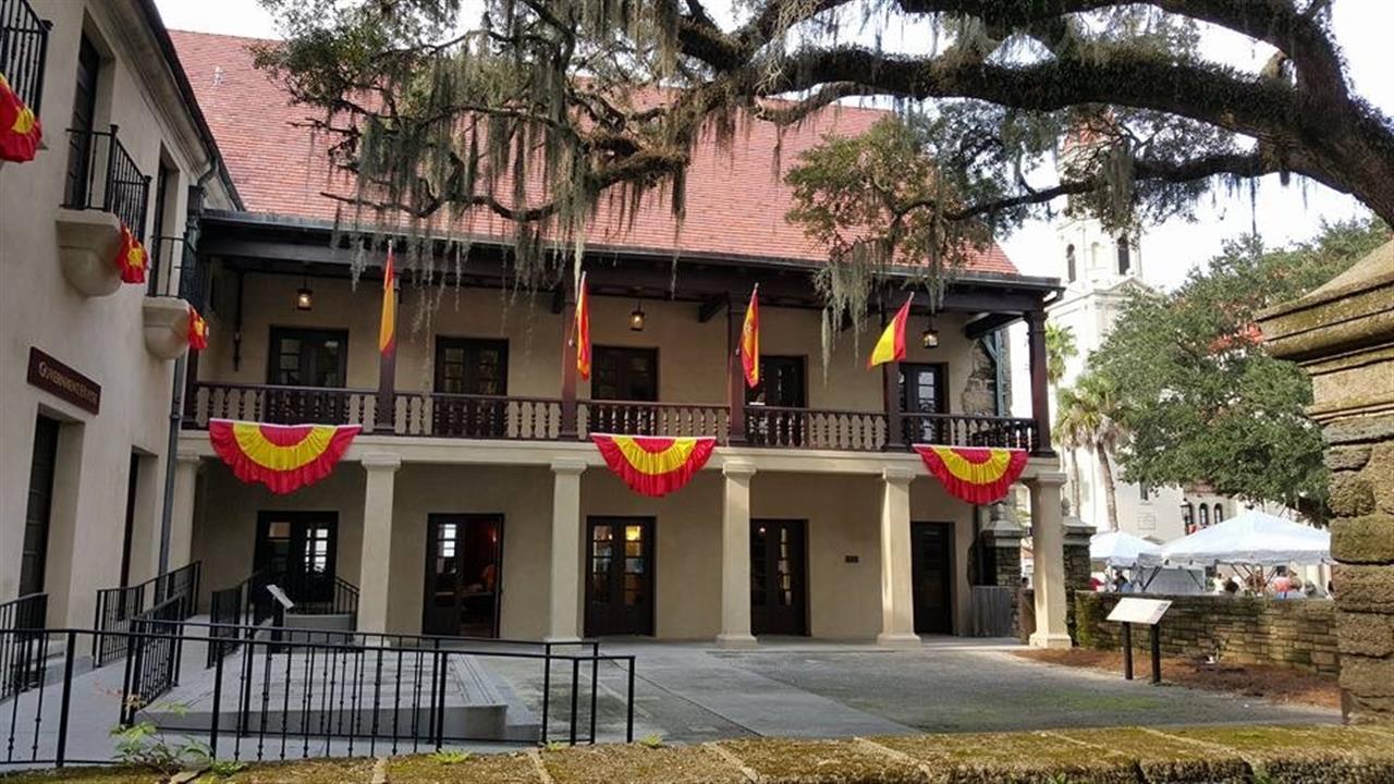 #StAugustine #GovernmentHouse #Celebrate450 #Florida #History