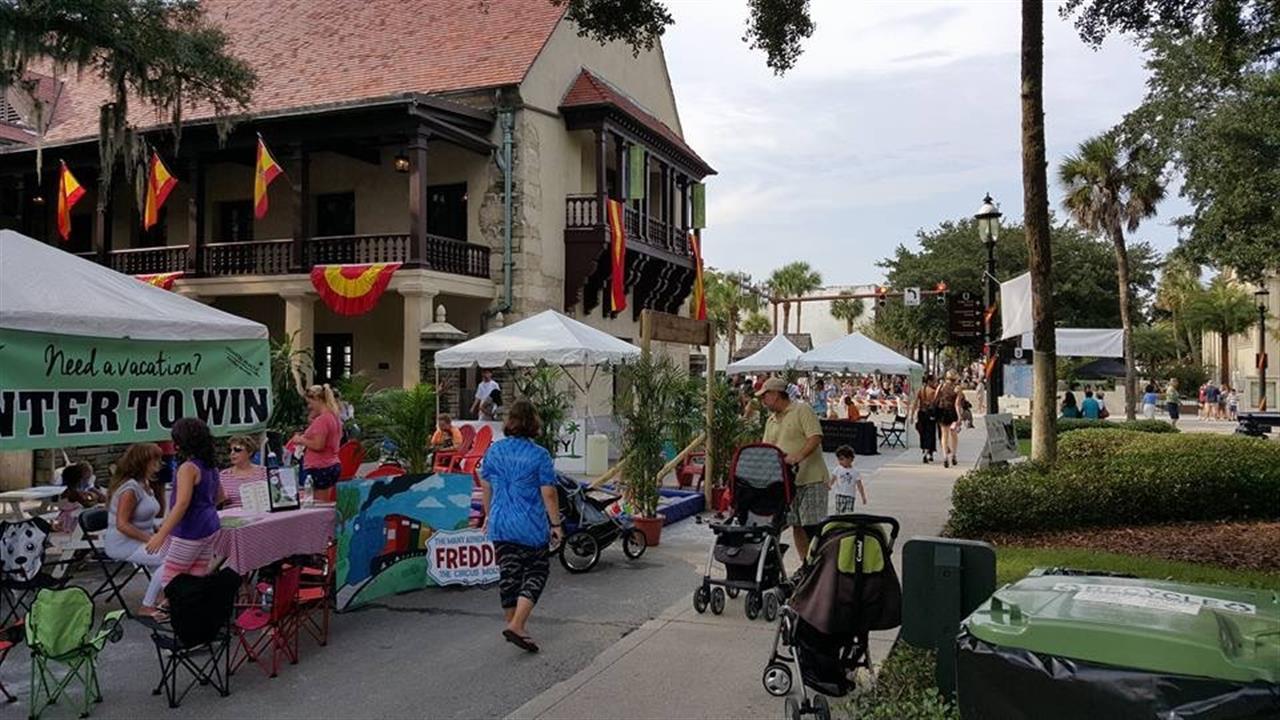 #StAugustine #StGeorgeStreet #Celebrate450 #Florida #History