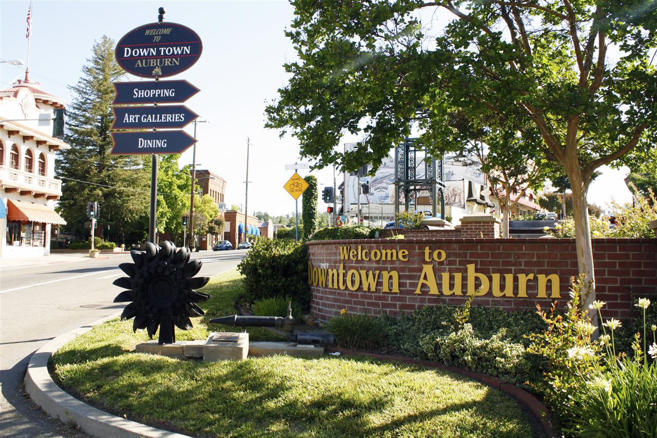 Welcome to Downtown Auburn, CA. #LeadingRELocal #LyonRealEstate