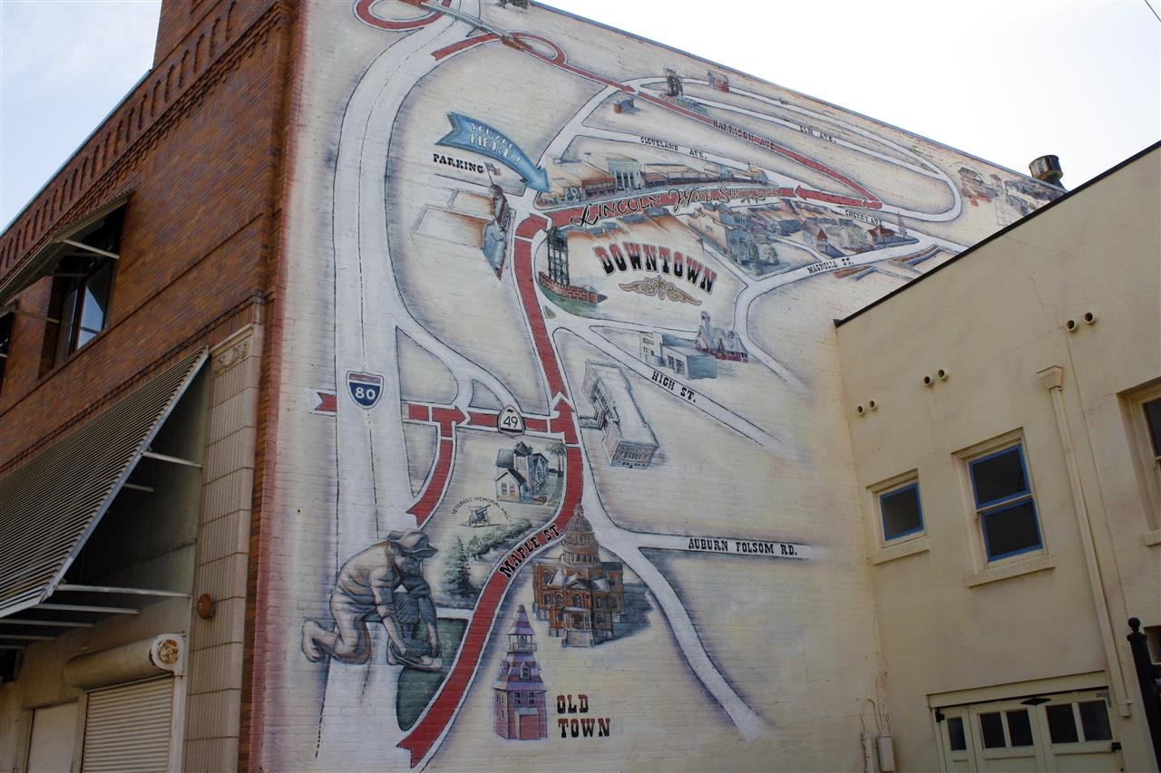 Iconic  mural in Downtown Auburn, CA. #LeadingRELocal #LyonRealEstate