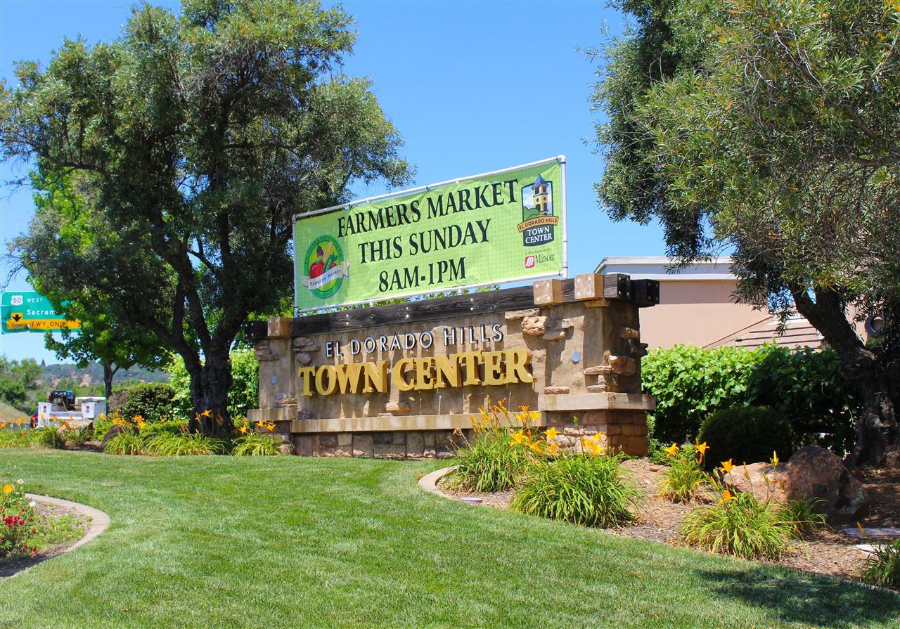 El Dorado Hills Town Center in El Dorado Hills, CA.  #LeadingRELocal #LyonRealEstate