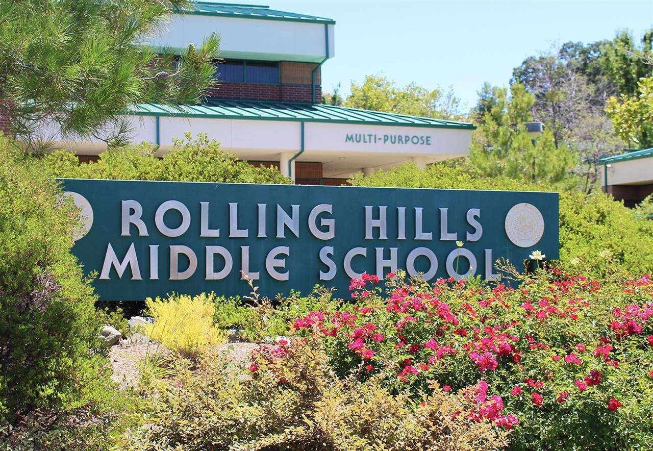 Rolling Hills Middle School in El Dorado Hills, CA.  #LeadingRELocal #LyonRealEstate