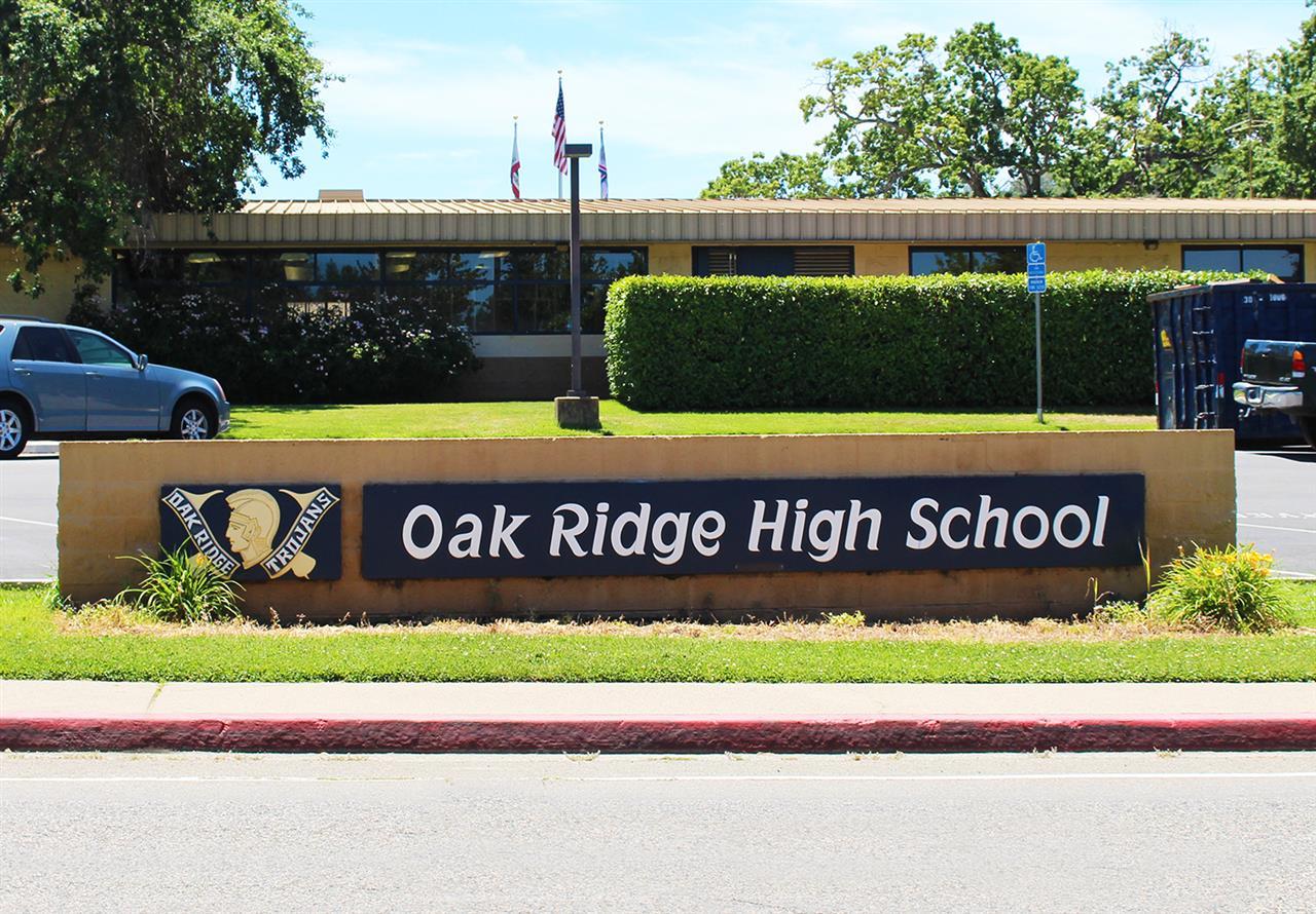 Oak Ridge High School in El Dorado Hills, CA.  #LeadingRELocal #LyonRealEstate