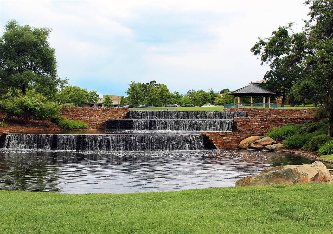 Beautiful fountain in Village Green Park, El Dorado Hills, CA. #LeadingRELocal #LyonRealEstate