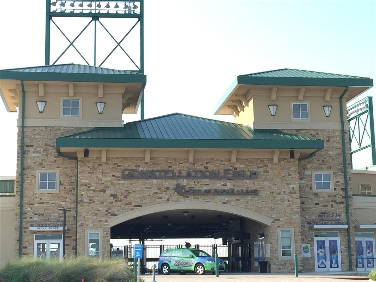 Constellation Field.  Home of the Sugar Land Skeeters minor league..