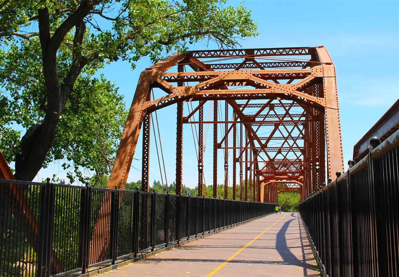 Fair Oaks Bridge over the American River. #LeadingRELocal #LyonRealEstate