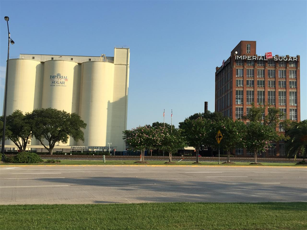 Historic Imperial Sugar factory.