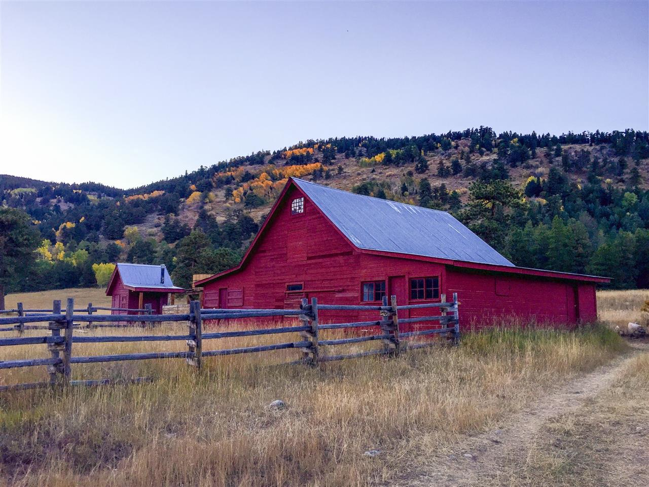 Barn at Caribou Ranch open space, Nederland, CO
