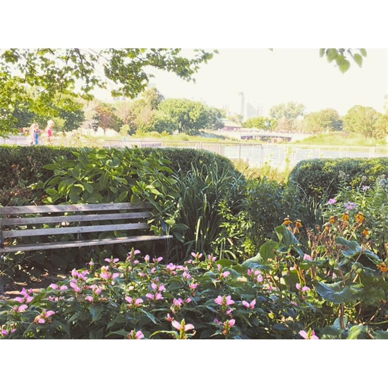 Stop and stay for awhile #chicago #lincolnpark #northpond #leadingrelocal #walkabout