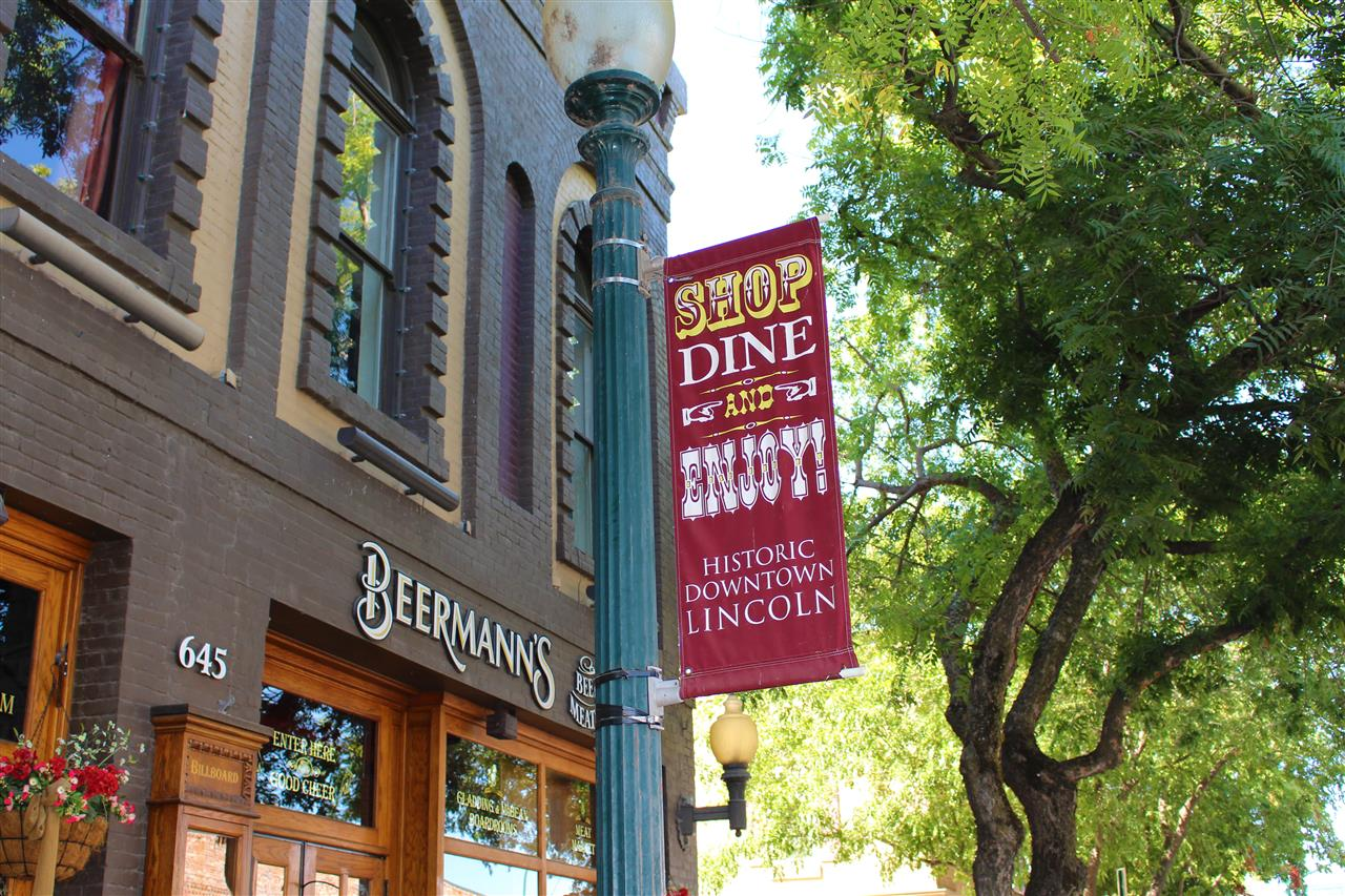 Shop, Dine, and Enjoy! Historic Downtown Lincoln, CA. #LeadingRELocal #LyonRealEstate