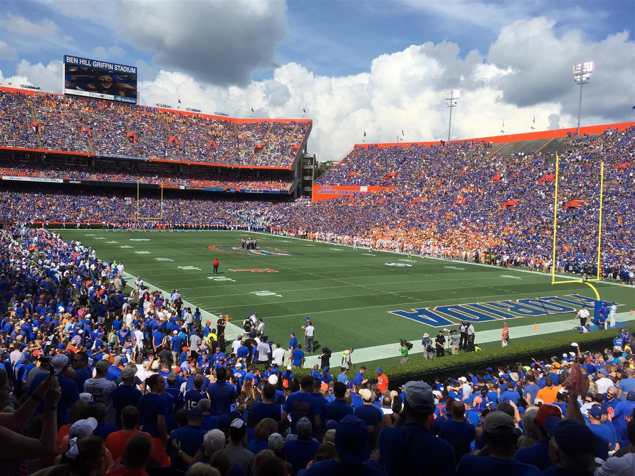 #leadingrelocal #theswamp The Swamp - UF Gainesville FL