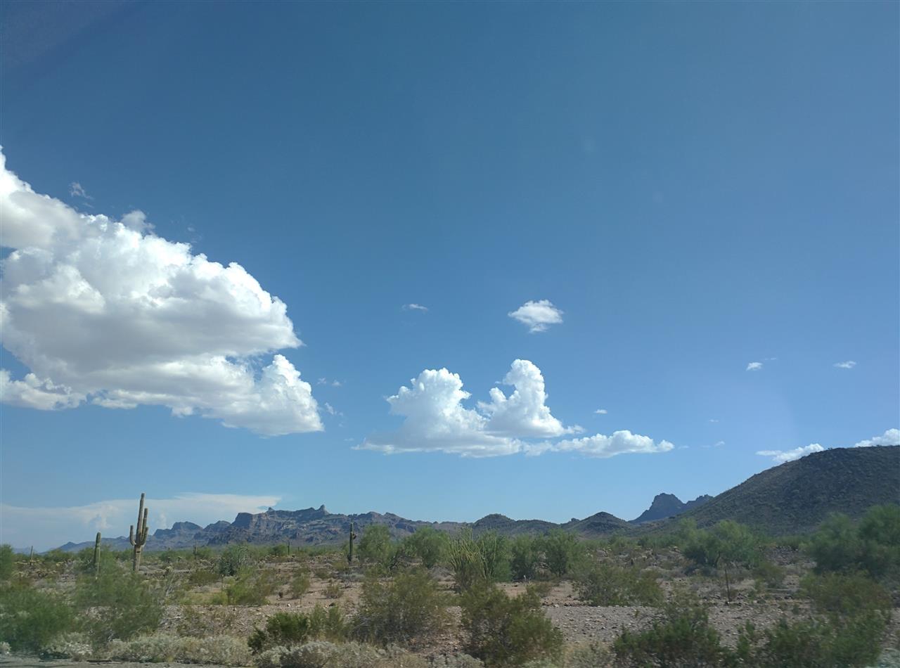 Scenery on I-10 from LA to Phoenix